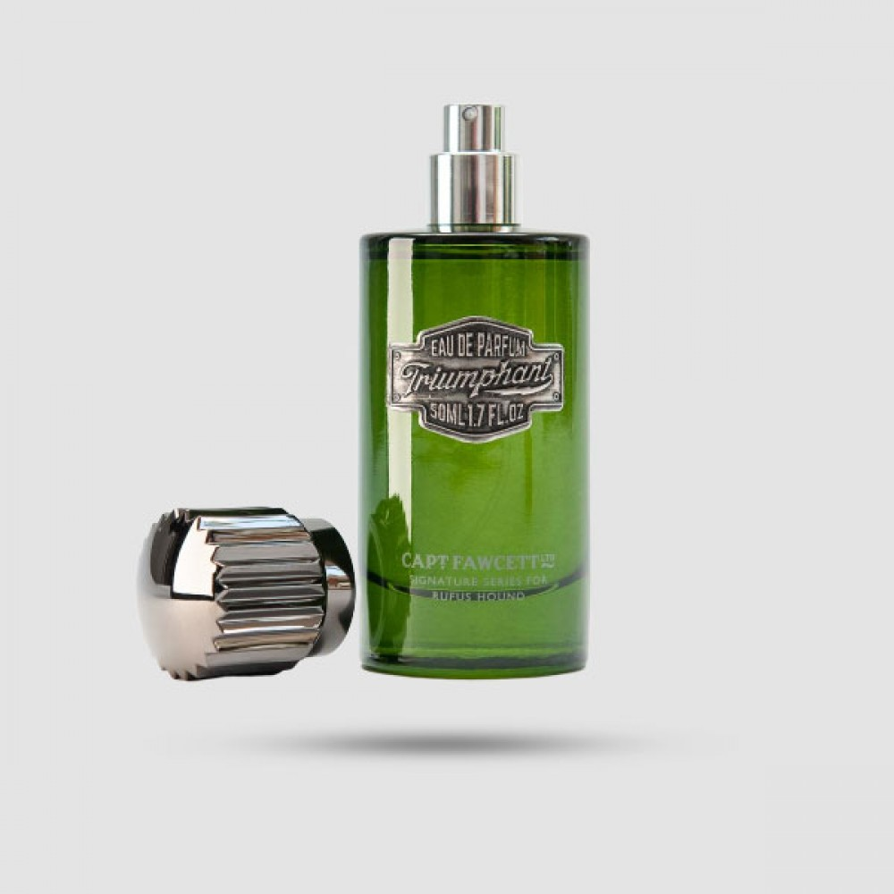 Eau De Parfum - Captain Fawcett - Triumphant by Rufus Hound 50ml