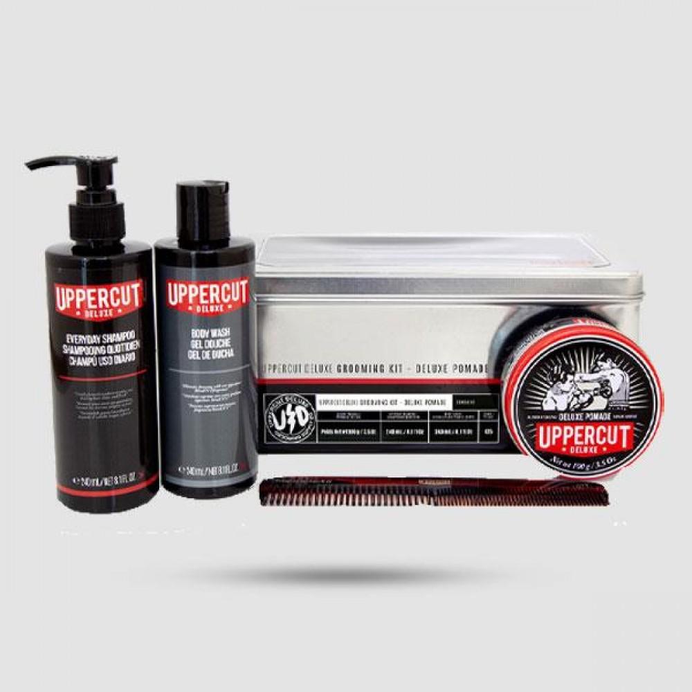 Pomade Grooming Kit - Uppercut Deluxe -