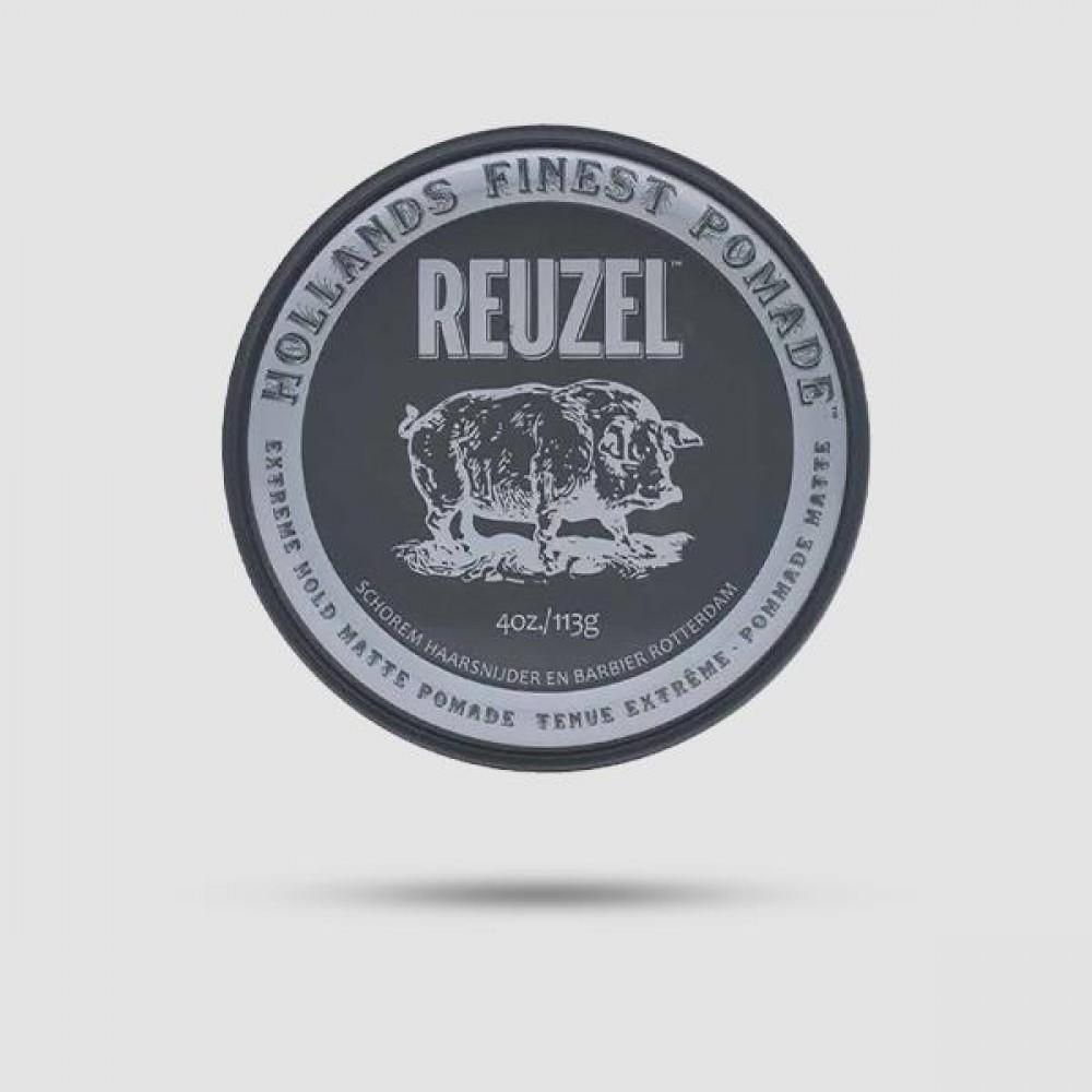 Πομάδα Για Μαλλιά - Reuzel - Extreme Hold 113g /  4oz