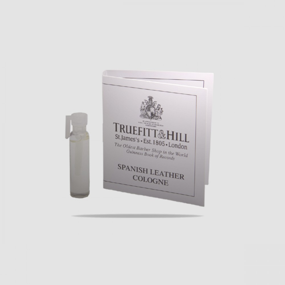 Eau De Cologne - Truefitt And Hill - Spanish Leather Sample 1,5ml