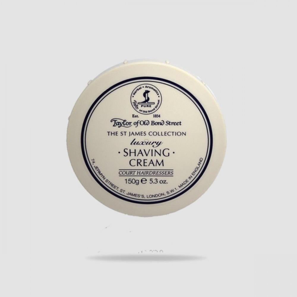 Κρέμα Ξυρίσματος The St.james Collection Luxury 150g