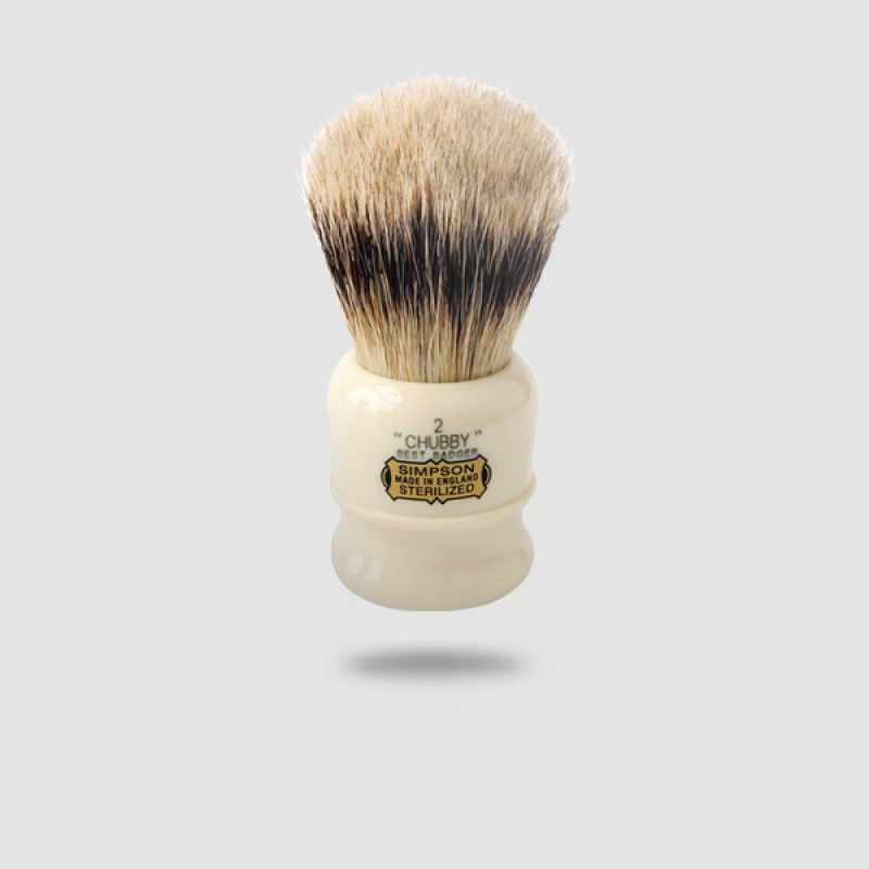 Πινέλο Ξυρίσματος Ασβού - Simpson - Best Badger, Chubby 2 (Ch2)