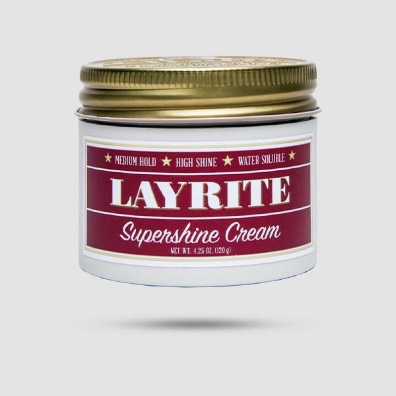 Κρέμα Για Μαλλιά - Layrite - Supershine Cream 120g