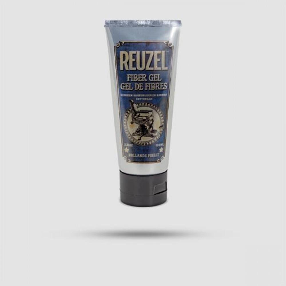 Τζελ Για Μαλλιά - Reuzel - Fiber Gel Δυνατό Κράτημα 100ml