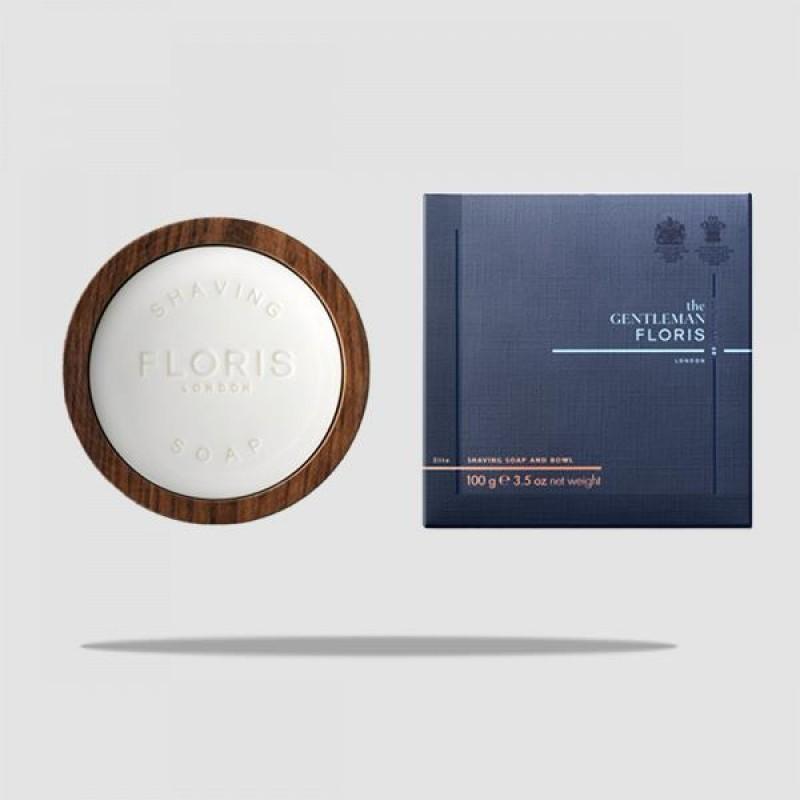 Σαπούνι Ξυρίσματος Σε Ξύλινο Μπωλ - Floris London - Elite 100g