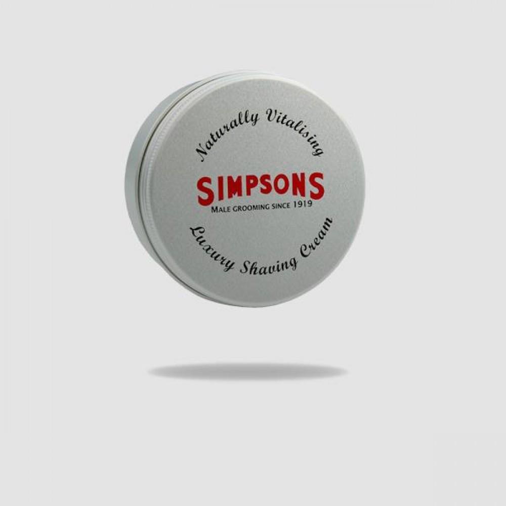 Κρέμα Ξυρίσματος - Simpsons - Χωρίς Άρωμα 125ml