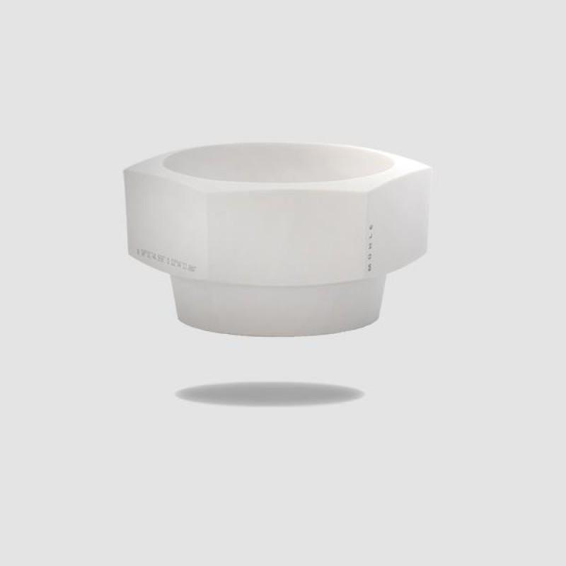 Μπωλ Ξυρίσματος - Muhle - Απο Λευκή Πορσελάνη, Hexagon (Rn Hxg)