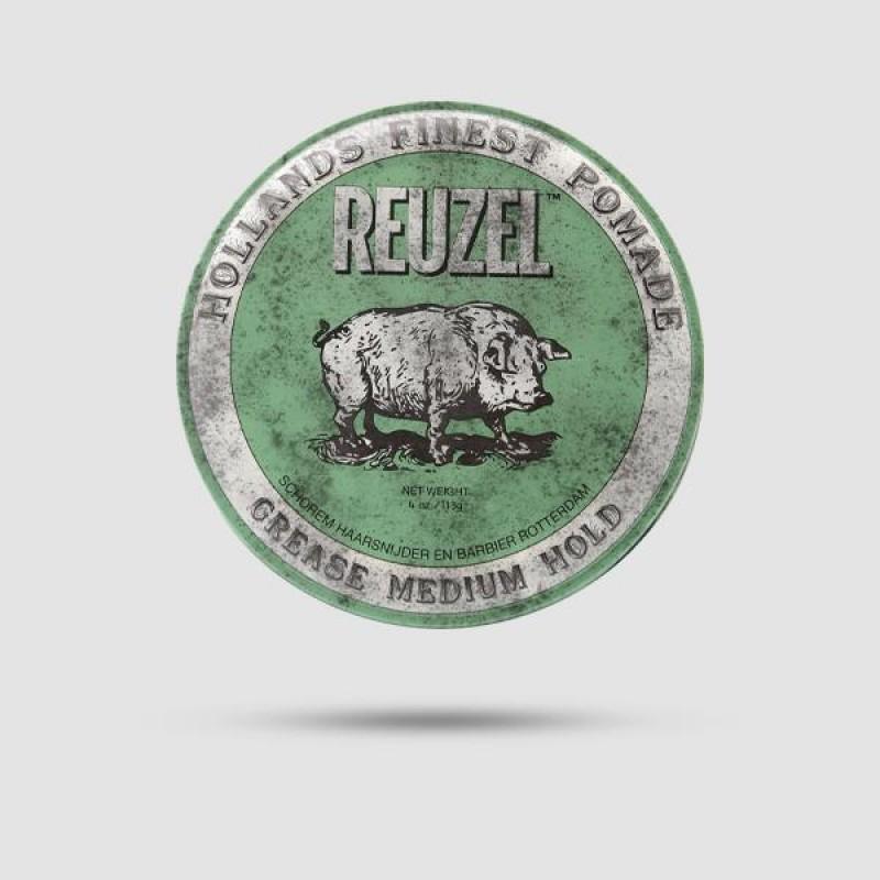 Πομάδα Για Μαλλιά - Reuzel - Green Μεσσαίο Κράτημα 113g