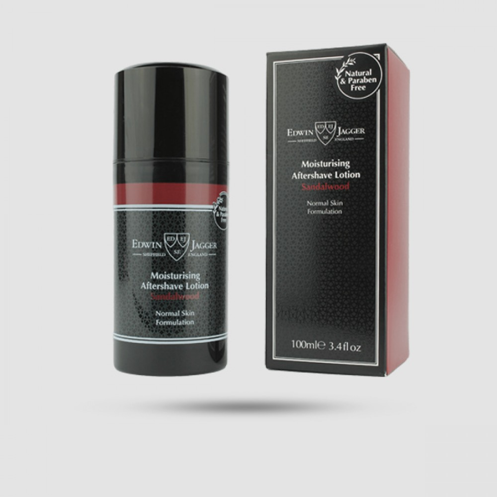 Aftershave Lotion - Edwin Jagger - Με Άρωμα Σανδαλόξυλο 100ml