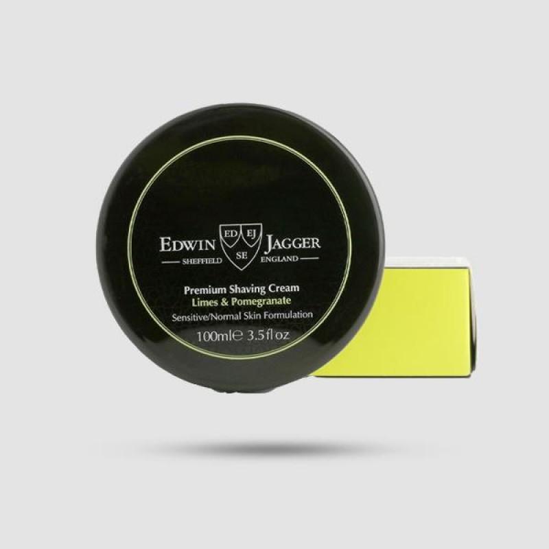 Κρέμα Ξυρίσματος - Edwin Jagger - Limes Και Ρόδι 100ml - (Pps-sclp)