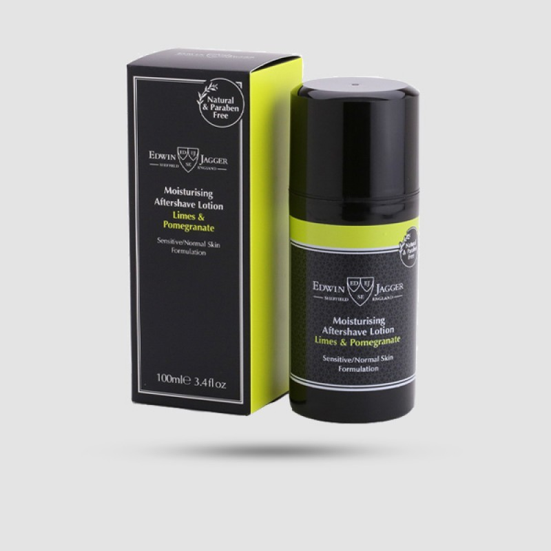 After Shave Lotion - Edwin Jagger - Limes And Pomegranate 100ml