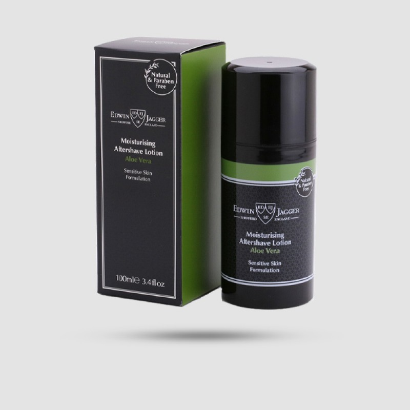 After Shave Lotion - Edwin Jagger - Aloe Vera 100ml