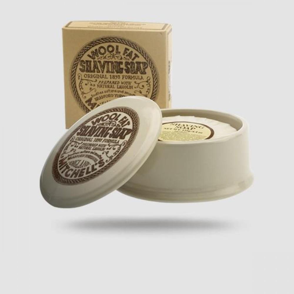 Σαπούνι Ξυρίσματος - Mitchells Luxury - Σε Κεραμικό Μπολ 125g