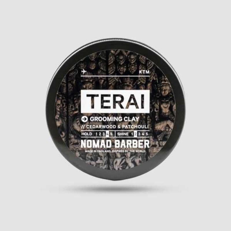 Πηλός Για Μαλλιά - Nomad Barber - Terai 85g