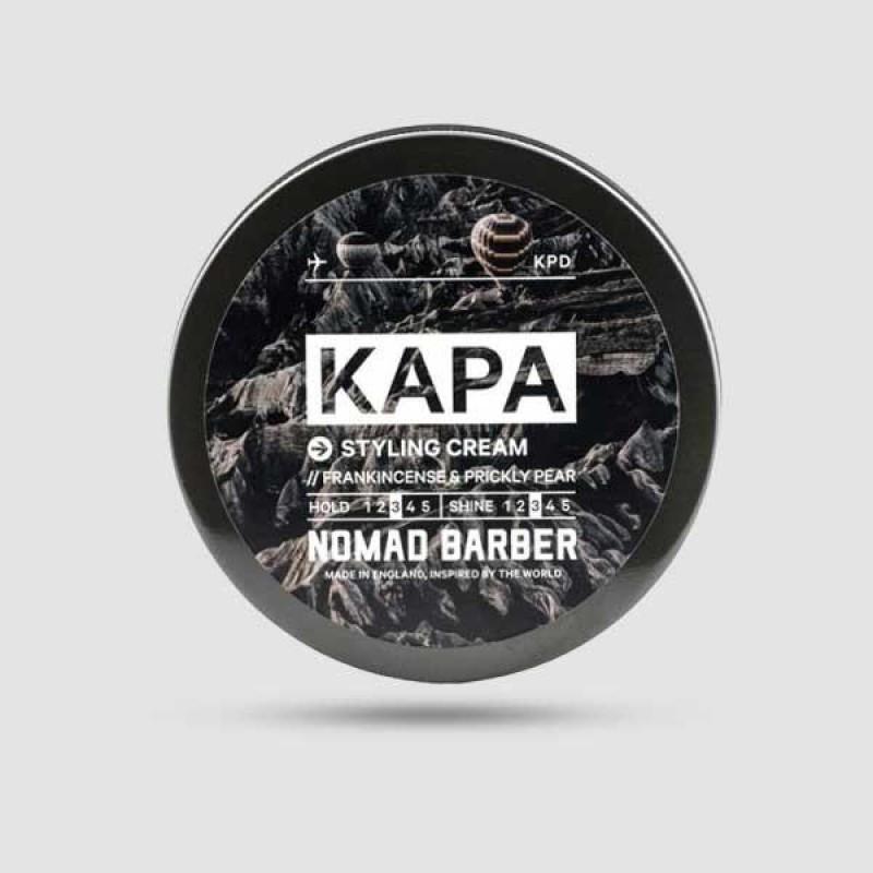 Kρέμα Για Μαλλιά - Nomad Barber - Kapa 85g