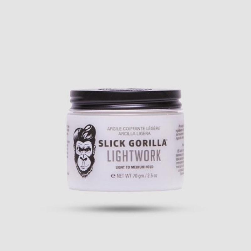Πηλός Για Μαλλιά - Slick Gorilla - Lightwork 75g