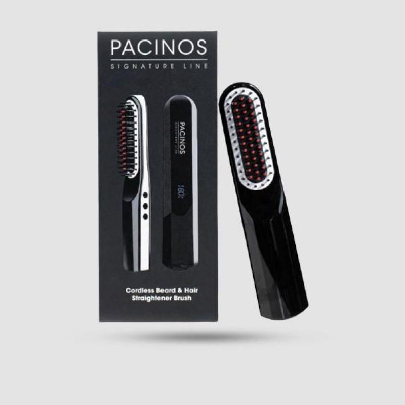 Beard & Hair Straightener Brush - Pacinos -