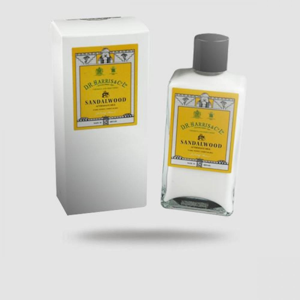 After Shave Milk - D. R. Harris - Με Άρωμά Σανταλόξυλο 100ml