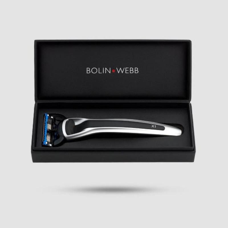 Ξυράφι 5 Λεπίδων - Bolin Webb - X1 Argent