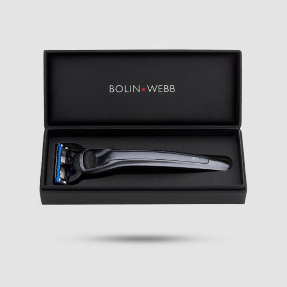 Ξυράφι 5 Λεπίδων - Bolin Webb - X1 Eiger Grey