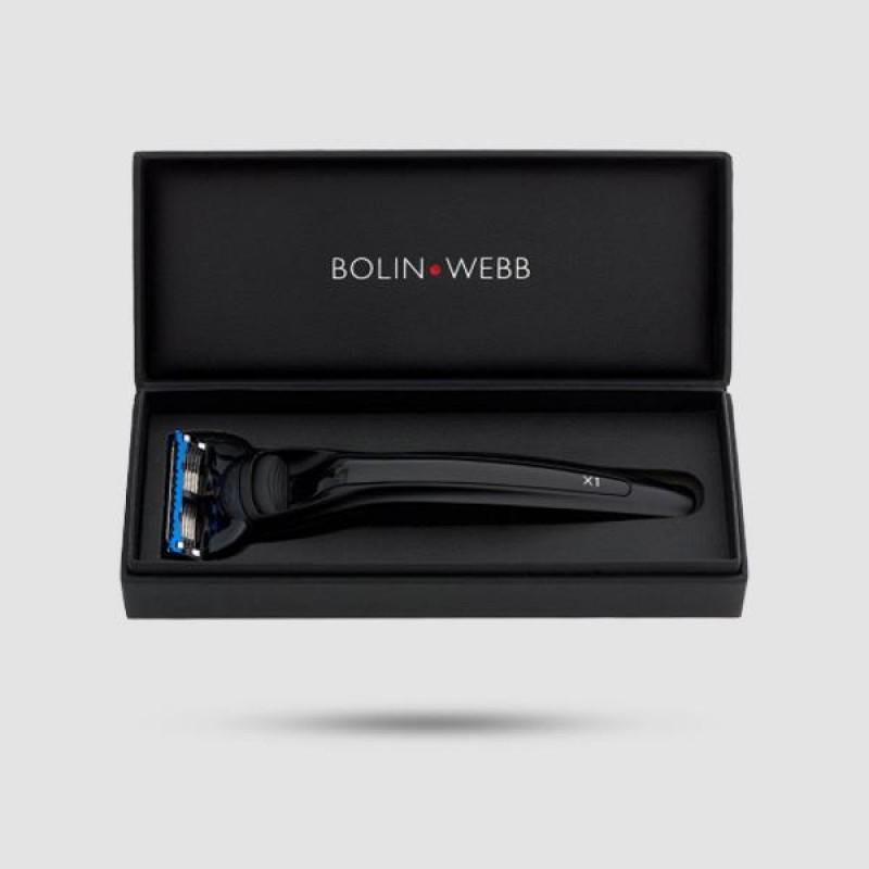 Ξυράφι 5 Λεπίδων - Bolin Webb - X1 Nero Black