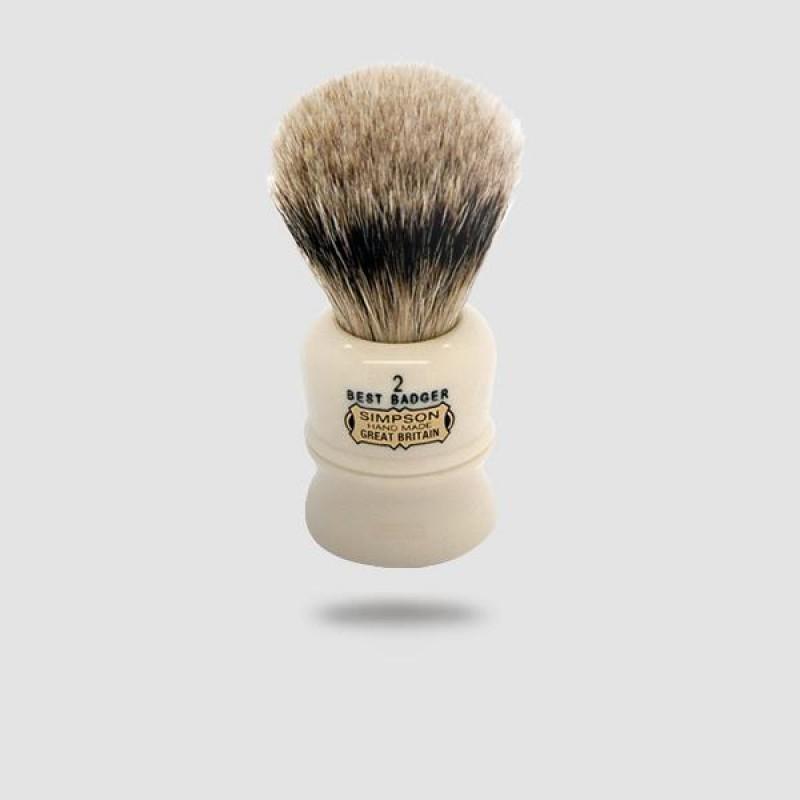 Πινέλο Ξυρίσματος Ασβού - Simpson - Best Badger, Duke 2 (D2)