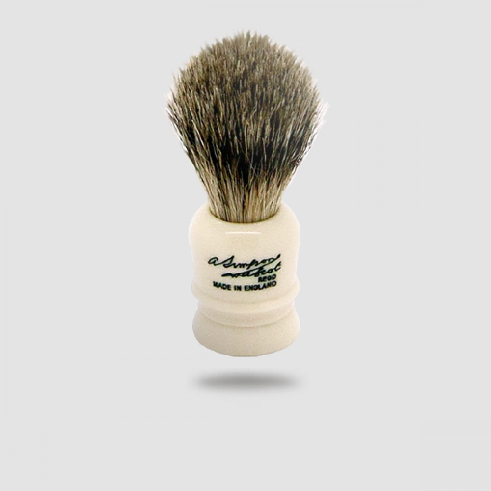Πινέλο Ξυρίσματος Ασβού - Simpson - Best Badger, Wee Scot