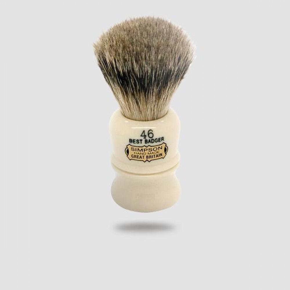 Πινέλο Ξυρίσματος Ασβού - Simpson - Best Badger, Berkeley (46b)