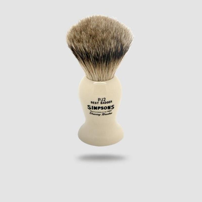 Πινέλο Ξυρίσματος Ασβού - Simpson - Best Badger, Persian Jar 2 (Pj2)