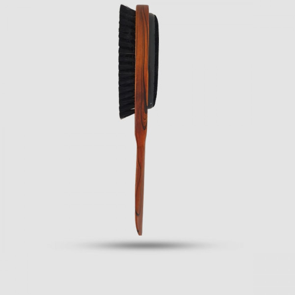 Ξύλινη Βούρτσα Καθαρισμού Ρούχων + Κόκκαλο Παπουτσιών Ξύλινο Ματ