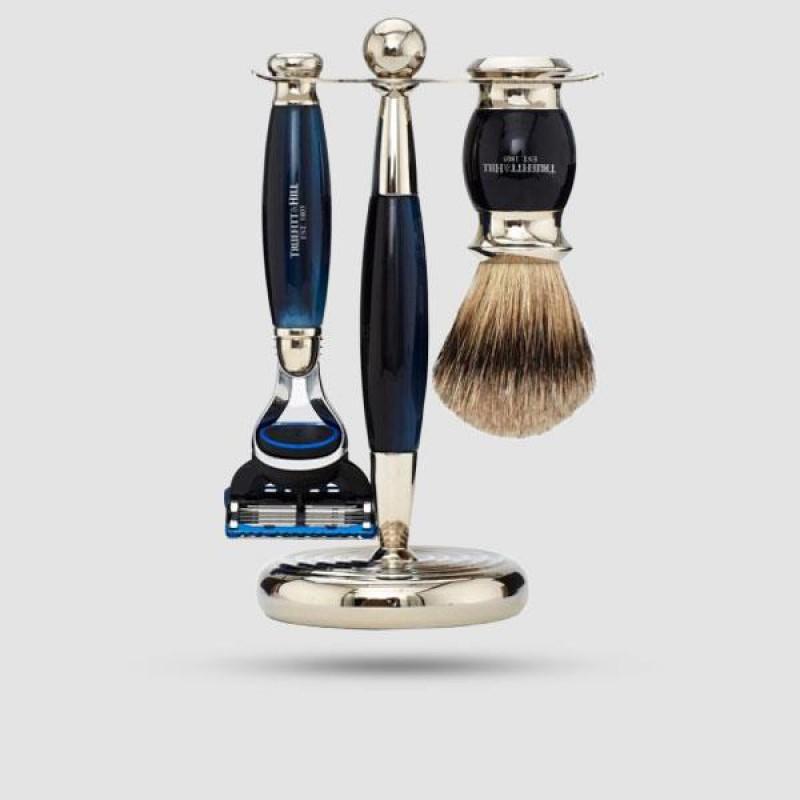 Σετ Ξυρίσματος - Truefitt And Hill - Edwardian Collection Blue Opal