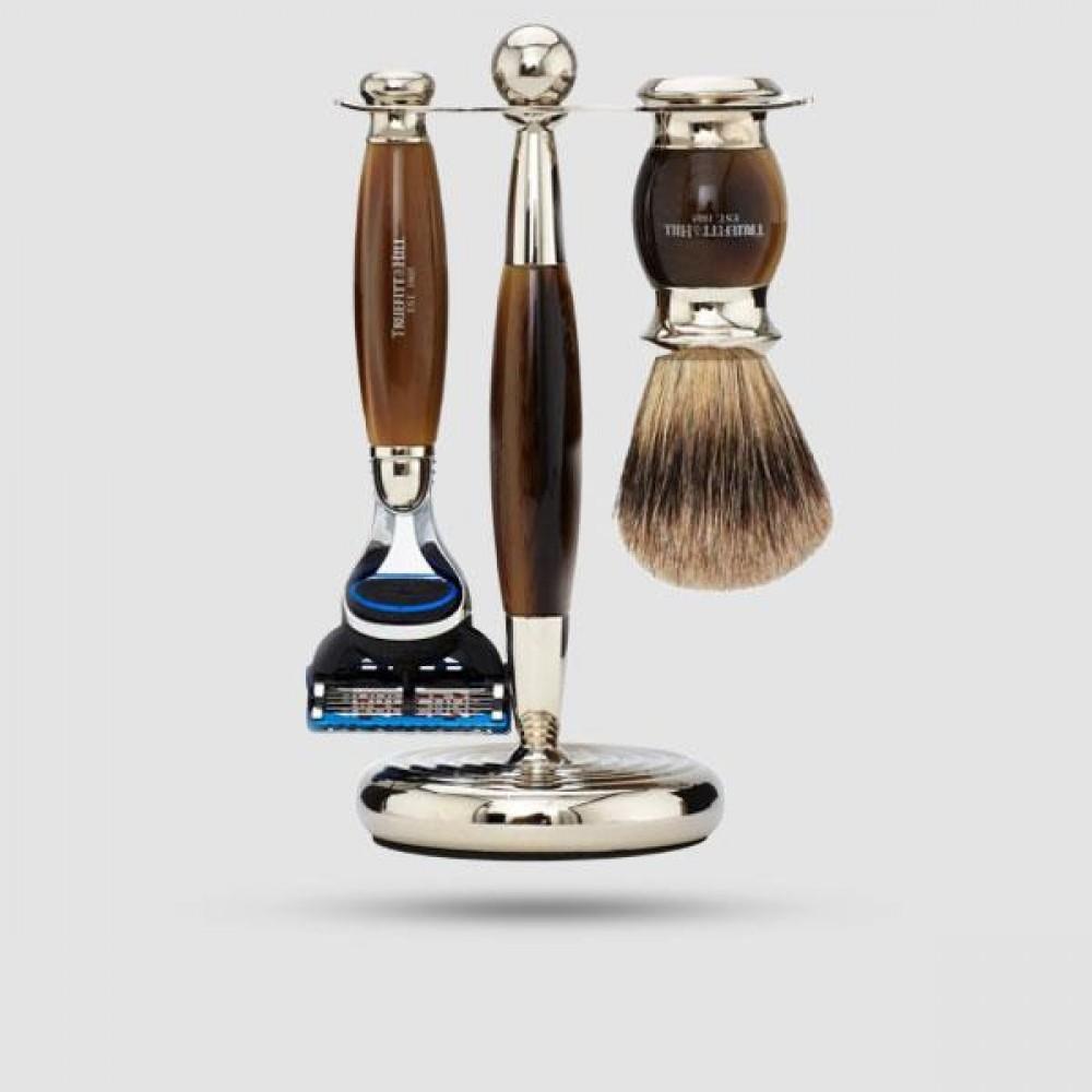 Σετ Ξυρίσματος - Truefitt And Hill - Edwardian Collection Horn