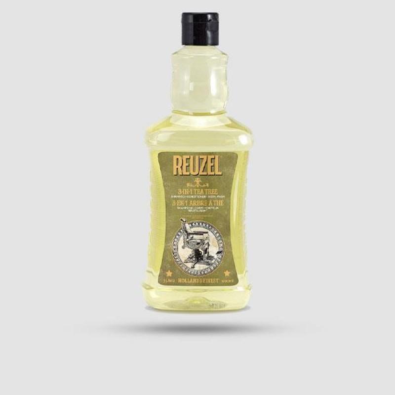 Σαμπουάν Για Μαλλιά   Γενιά   Σώμα - Reuzel - 3-in-1 Tea Tree 1000ml