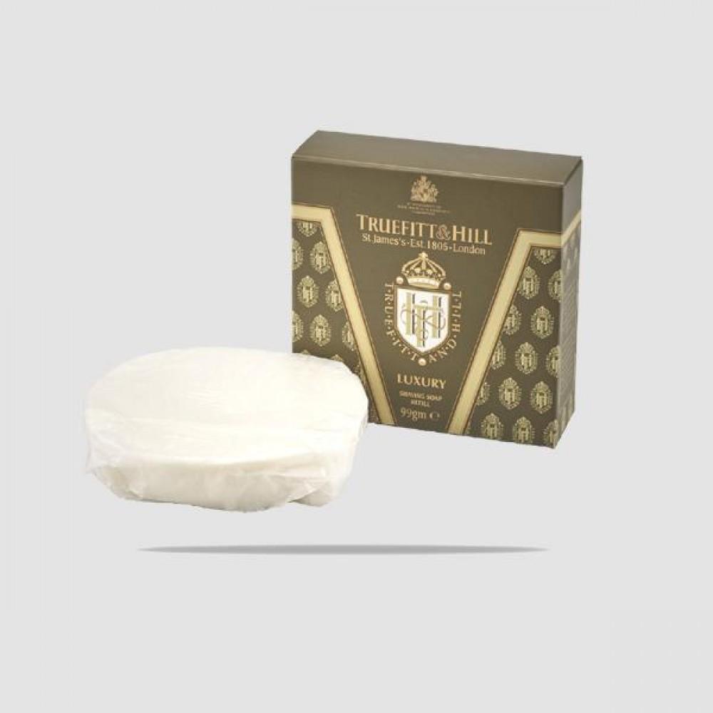 Ανταλλακτικό Σαπούνι Ξυρίσματος - Truefitt And Hill - Luxury 99g