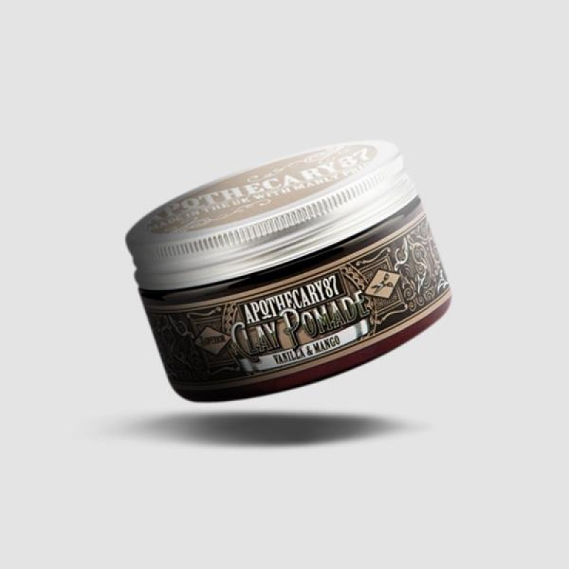 Clay Pomade - Apothecary87 - Vanilla And Mango 100ml / 3.38oz