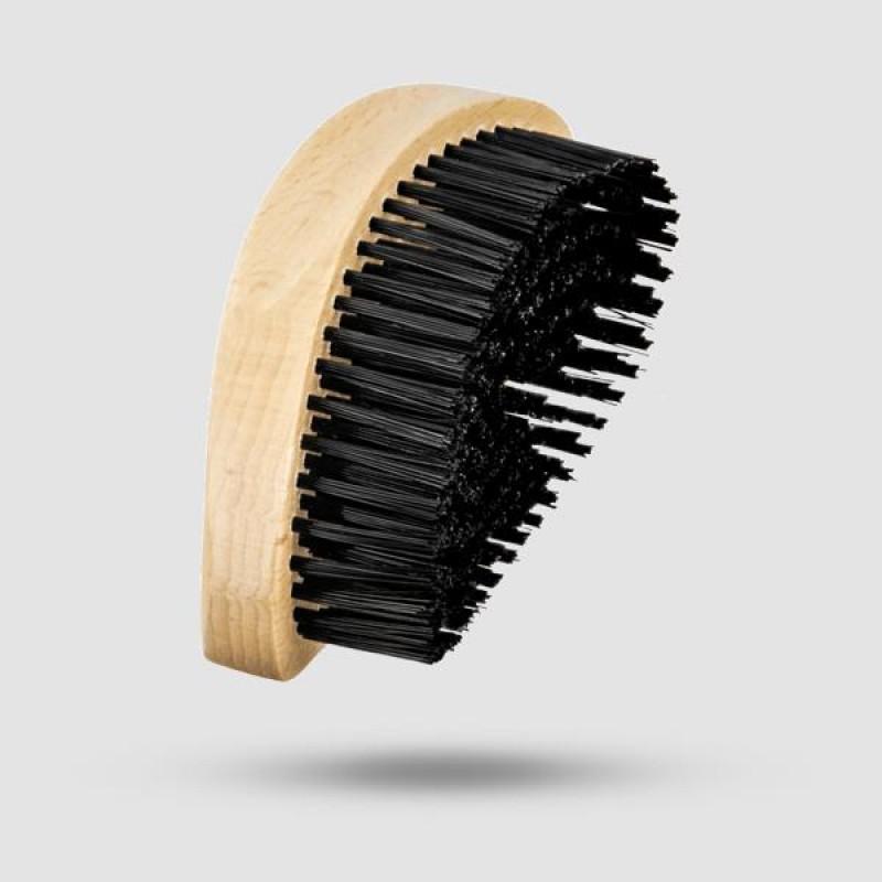 Βούρτσα Για Γένια - Suavecito - Συνθετική, Natural Wood