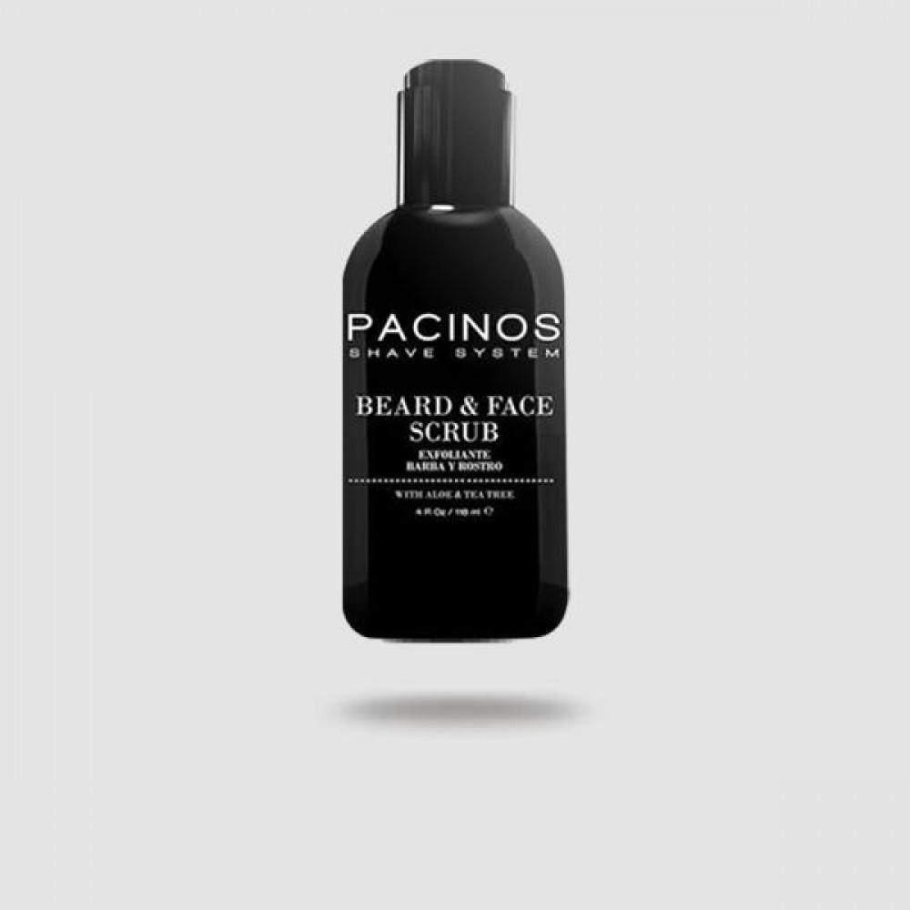 Scrub Προσώπου Και Γενειάδας - Pacinos - 118 Ml