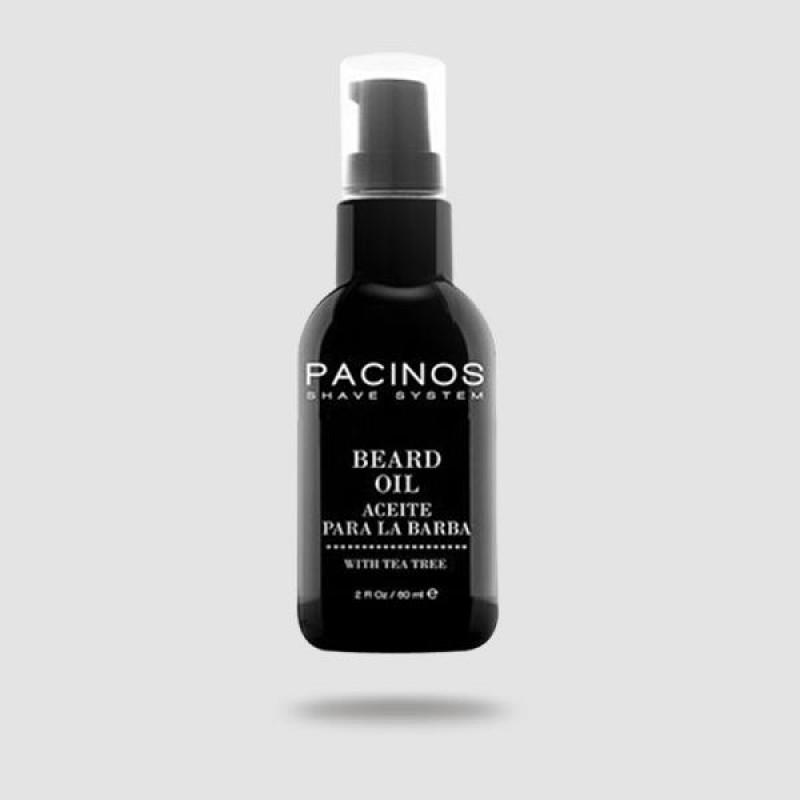 Λάδι Για Γένια - Pacinos - Με Tea Tree Oil 60 ml