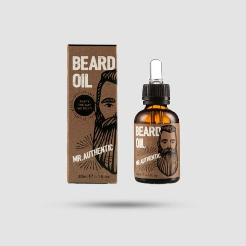 Beard Oil - Cosmogent - Mr. Authentic 30ml