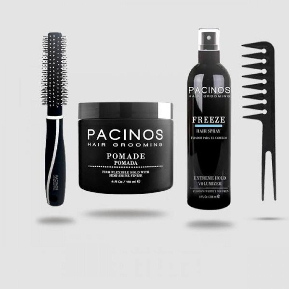 Pacinos Pomade Hair Styling Kit