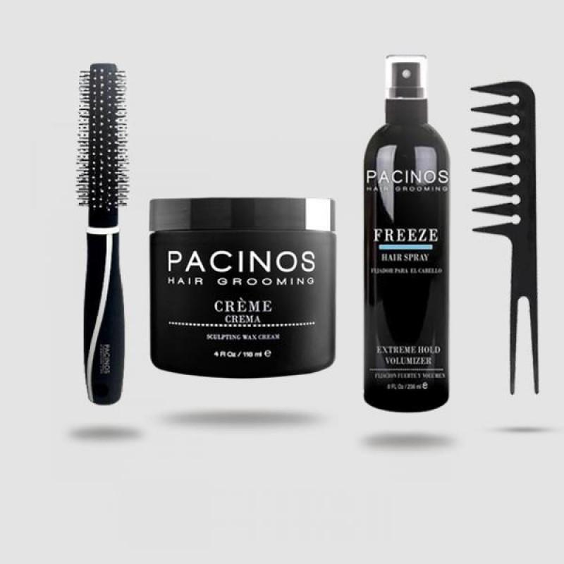 Pacinos Wax Creme Hair Styling Kit
