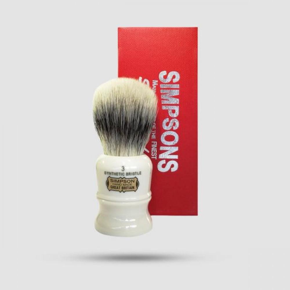 Πινέλο Ξυρίσματος - Simpson - Synthetic Bristle, The Duke 3