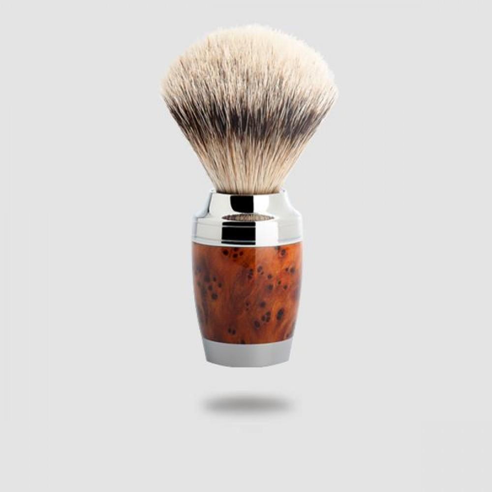 Πινέλο Ξυρίσματος Ασβού - Muhle - 091 H 71, Silvertip Badger