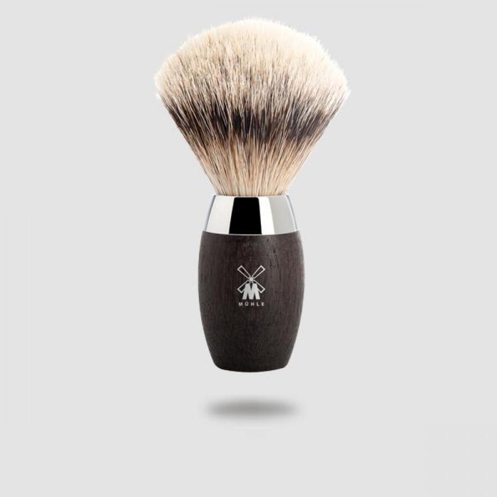 Πινέλο Ξυρίσματος Ασβού - Muhle - 091 H 873, Silvertip Badger