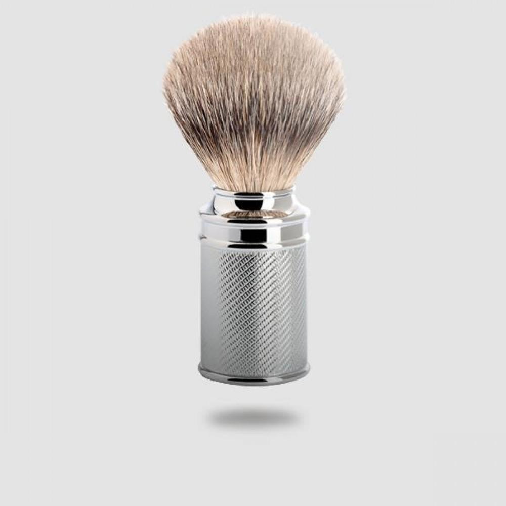 Πινέλο Ξυρίσματος Ασβού - Muhle -091 M 89, Silvertip Badger