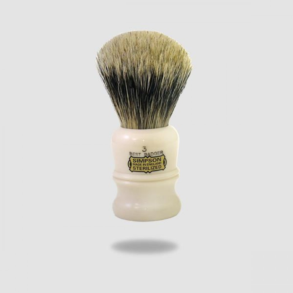 Πινέλο Ξυρίσματος Ασβού - Simpson - Best Badger, Duke 3 (D3)