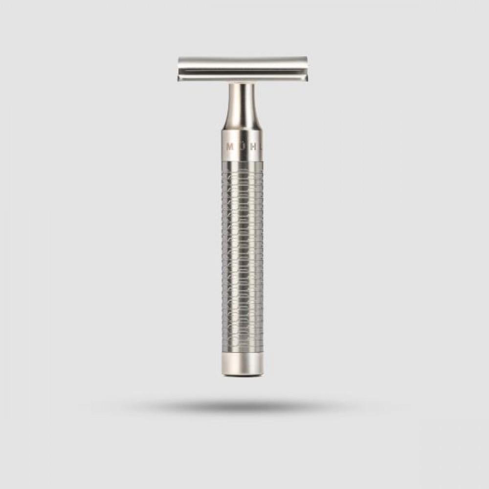 Ξυριστική Μηχανή - Muhle - Stainless Steel, Silver Matt ( R 94 )