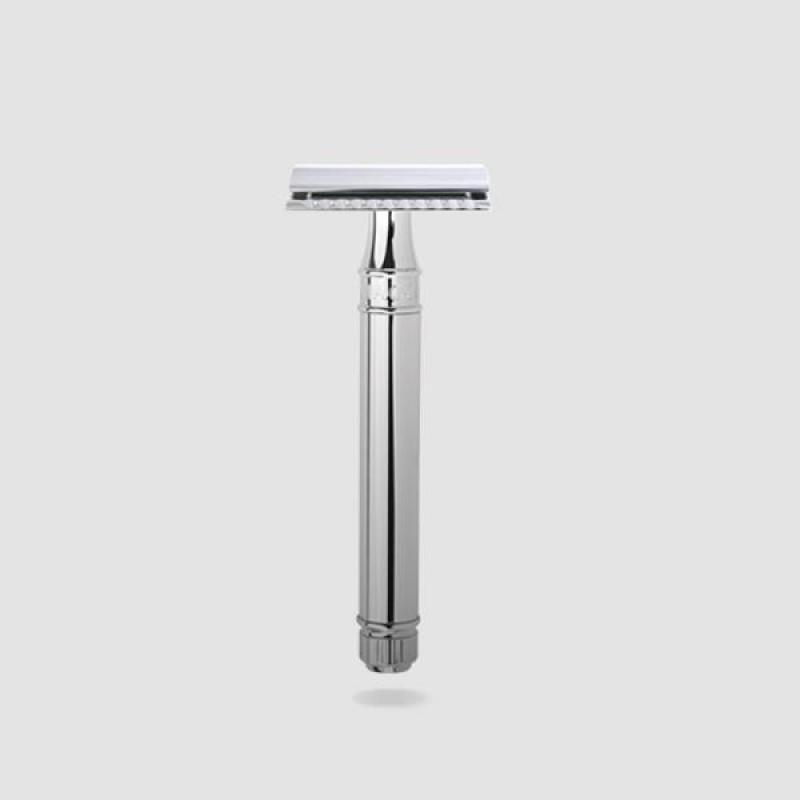 Ξυριστική Μηχανή - Edwin Jagger - Με Λαβή Χρωμίου (Pps-del8914bl)