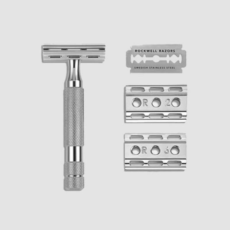 Ξυριστική Μηχανή - Rockwell - 6c, Gunmetal Chrome