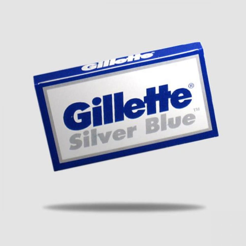 Ανταλλακτικές Λεπίδες Ξυρίσματος - Gillette - Silver Blue 1 X 5